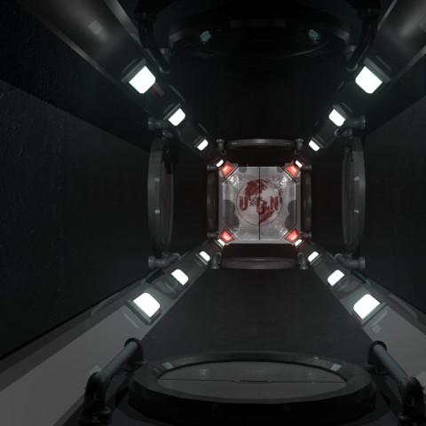Mars 01 Hallway