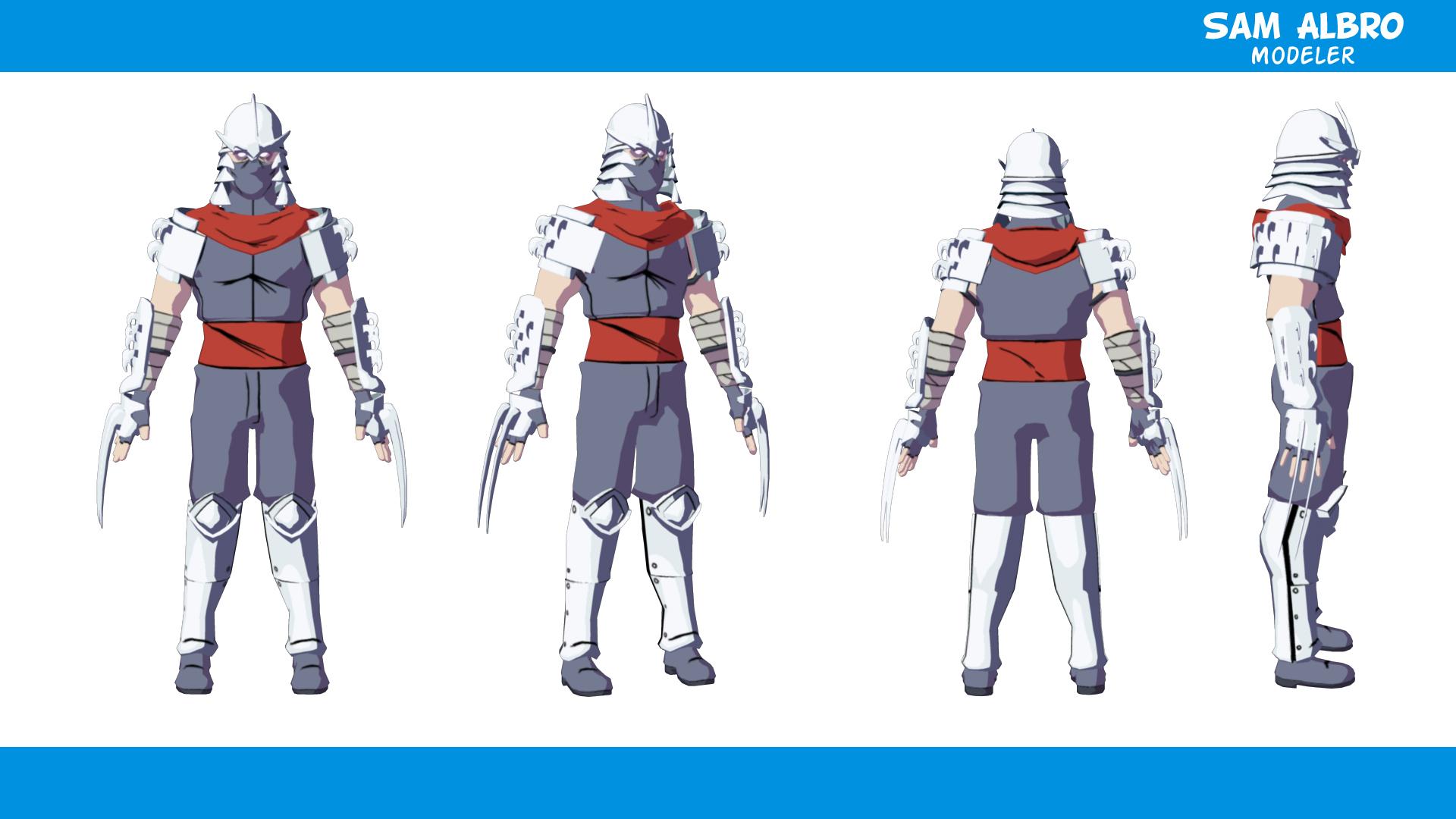 Shredder model